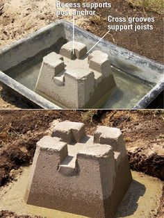Exceptional Concrete Deck Footings #3 Precast Concrete Deck Footings