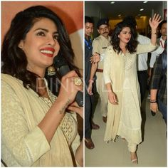 Celebrity Style,Priyanka Chopra,anita dongre,Payal Singhal,aquamarine,Madhurya