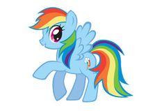 Le creazioni di Sarlilla: My Little Pony: Rainbowdash