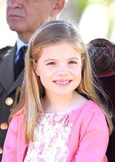 Infanta Sofia of Spain May 2, 2014