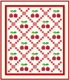 IRISH CHAIN QUILT.........PC..........Podunk Pretties: Tutorial Tuesday Cute Quilts, Small Quilts, Mini Quilts, Bed Quilts, Quilting Tutorials, Quilting Projects, Quilting Designs, Quilting Ideas, Quilt Block Patterns