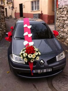 Renault Megane 2 Sedan - Wedding Car - Renault Fan Club - https://www.facebook.com/RenaultFanClub