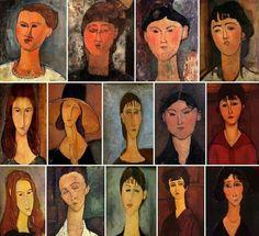 Amedeo Modigliani, Modigliani Paintings, Illustration Art, Illustrations, Art Plastique, Famous Artists, Oeuvre D'art, Impressionist, Art Lessons