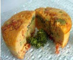 Recette Flan de brocoli au chorizo par HELOKA - recette de la catégorie Accompagnements