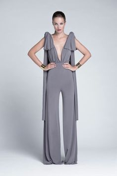 Nude, made in Spain Fashion Pants, Girl Fashion, Fashion Outfits, Fasion, Fashion Clothes, Simple Outfits, Simple Dresses, Jumpsuit Elegante, Estilo Hippy