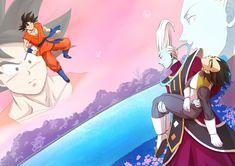 Son Gokū, Vegeta & Whis - Dragon Ball Z: Resurrection 'F' | by ふぉれ