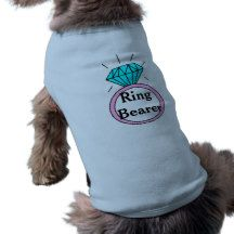 Wedding Ring Bearer Doggy T-Shirt Doggie Tshirt Wedding Gifts, Wedding Ring, Ring Bearer, Drink Sleeves, Save The Date, Pets, Engagements, Tee Shirt, Weddings