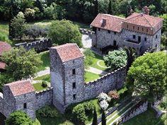 Castello di Rossino., Monza,  Province of Monza and Brianza , Lombardy region Italy