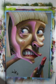 Street Art # Artist :Belin # love his art ..he is so talented  <3 this !