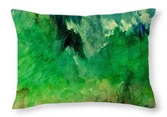 Forest Mountains Throw Pillow for Sale by Faye Anastasopoulou - x