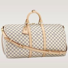 (Width*Height*Depth) 9.4 X 12.2 X 21.7 inches  - Metallic pieces in shiny silver brass to illuminate the canvas  - Removable strap with shoulder patch  - Rounded handles for comfortable hand carry  - Iconic Louis Vuitton Keepall shape  - Cabin size