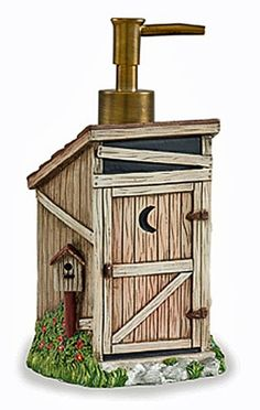 Outhouse Bathroom Decor By Linda Spivey | House | Pinterest ...