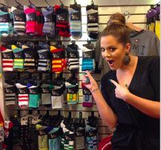 #KhloéKardashian adore les chaussettes #arthurgeorge