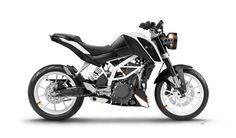 KTM Duke 390 white mod by Zsolt Mar