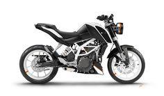 KTM Duke 390 white mod by Zsolt Mar