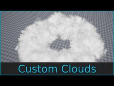 Custom shaped Clouds - Niagara Tutorial - YouTube I Am Game, Game Dev, Social Link, Unreal Engine, Hello Everyone, Unity, Clouds, Shapes, Make It Yourself
