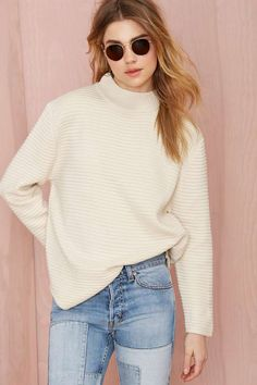 UNIF Bobbie Ribbed Sweater | Shop Clothes at Nasty Gal!