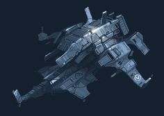 Ship sketch_Barius by Talros on deviantART