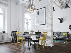 Home designing, http://trendesso.blogspot.sk/2015/08/scandinavian-apartment-with-great-ideas.html
