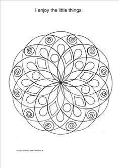 Mandala Coloring Book Art Therapy Healing Art by ValerieArts2014