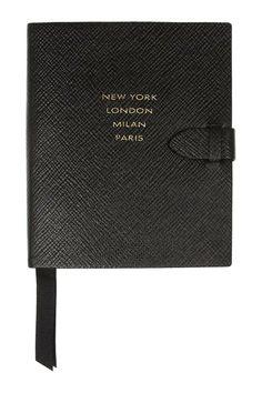 Smythson Fashion Week Leather Notebook: http://rstyle.me/~14SsU