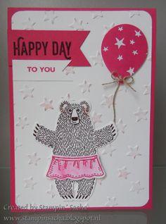 De nieuwe catalogus zit gewoon bomvol leuke producten. Toen ik de verjaardagskaart ging maken met de bundle 'Bear Hugs' heb ik meerdere kere...