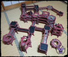 Towers and Walkways (by Miniature Scenery) #ChaoticColors #commissionpainting #paintingcommission #painting #miniatures #paintingminiatures #wargaming #Miniaturepainting #Tabletopgames #Wargaming #Scalemodel #Miniatures #art #creative #photooftheday #hobby #paintingwarhammer #Warhammerpainting #warhammer #wh #gamesworkshop #gw #Warhammer40k #Warhammer40000 #Wh40k #40K #terrain #scenery #Scifi #miniaturescenery #Towers #Walkways #killteam 40k Terrain, Warhammer 40000, Tabletop Games, Walkways, Gw, Towers, Scenery, Sci Fi, Miniatures