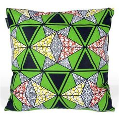 3rd Culture - Douala Cushion Cover, 50x50 cm @ ACHICA.com