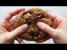 (14) The Best Ever Vegan Chocolate Chip Cookies - YouTube  BEST COOKIE EVER! TRIED