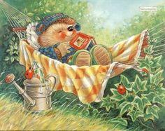 Country Companions Ed Hedgehog