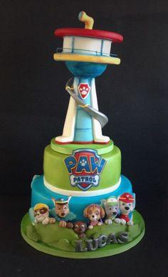 Paw patrol - Cake by Cristina - CakesDecor