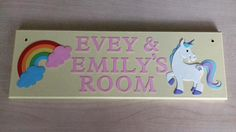 Items similar to Unicorn Nursery Name plaque Pony Rainbow Baby Girls Kids Name sign. Any Colours Any Name/Names. Rainbow Baby Girls bedroom decor Fairytale on Etsy Trending On Pinterest, Name Plaques, Online Support, Fairy Land, Craft Business, Rainbow Baby, Name Signs, Pinterest Marketing, Kid Names
