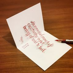 3D Lettering with Parallelpen-Brushpen&Pencil.As allways, I tried to create 3D anamorphic typography and lettering with calligraphy tools and pencil. I hope you will enjoy. Thanks and regards,Tolga GİRGİN