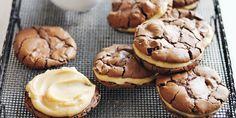 Salted Caramel Brownie Sandwiches