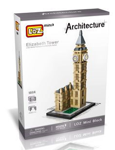 World Famous Building United Nations Headquarter DIY Mini Blocks Diamond Toy LOZ