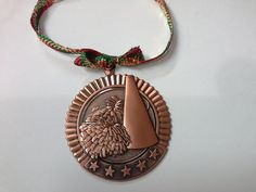 Bronze Copper Cheerleading Christmas Ornament Medal by GiftWorks. CLICK NOW and get FREE SHIPPING . $8.95 get them while they last...one left !