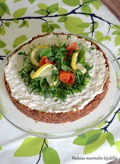 Makeaa murmelin täydeltä: Piirakat Cheesecakes, Camembert Cheese, Dairy, Food And Drink, Baking, Recipes, Quiches, Drinks, Drinking