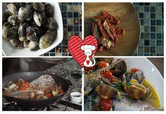Ricette e Segreti in Cucina : Orata e vongole all'acqua pazza