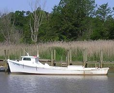 Virginia designated the classic Chesapeake Bay deadrise workboat as the official state boat in 1988. During the first half of the 20th Century, a fleet of these boats worked the Chesapeake for oysters.  Simple but elegant, the deadrise was built specifically to work the shallow, choppy waters of the Chesapeake Bay and its rivers. Many watermen built their own boats, with unique variations on the basic design