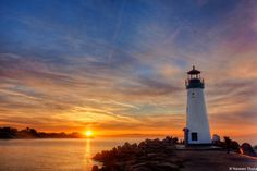 """Santa Cruz Light House - I see lot of dust issues, Time for sens"" by Naveen Kumar, via 500px."