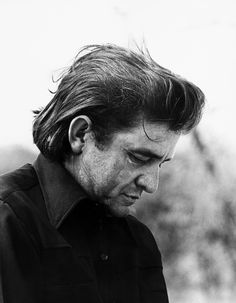 Johnny Cash, one of the best. Went through hell and came back on God's side.  Miss you, Johnny.