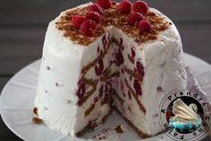 Gâteau sans cuisson framboises spéculoos http://www.aprendresansfaim.com/2016/03/gateau-sans-cuisson-framboises-speculoos.html