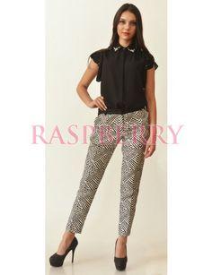 Zebra Trousers - Pantaloni/Colanti/Jeans - Imbracaminte