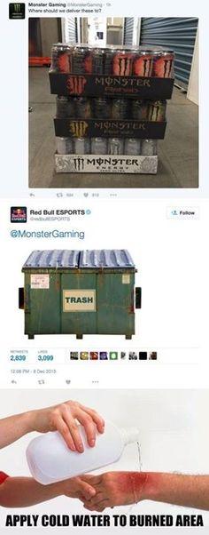Red Bull ESPORTS Just Rekt Monster Gaming on Twitter