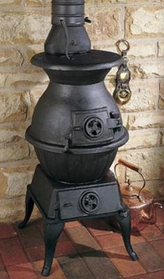 Beautiful example of a pot belly stove! It's not one of ours, but it's a lot like the ones we put in every one of our DeliCafes!