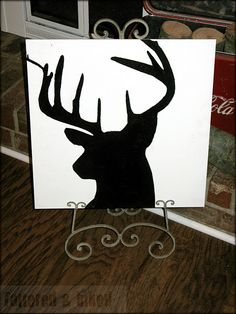 Something about this just sweet and elegent... easy art project... def on my list.