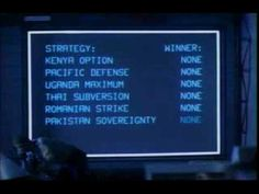 Just watched War Games again. Someone should smuggle a copy of that into Pyongyang. And Washington while they're at it 80s Sci Fi, Ready Player One, Nuclear War, Movies Online, Pop, Scene, Games, Chess, Starfish