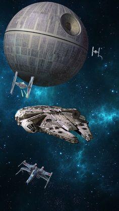 Star wars 1 - Star Wars Poster - Ideas of Star Wars Poster - - Star wars 1 Star Wars Fan Art, Star Wars Film, Star Wars Poster, Star Wars Cute, Nave Star Wars, Star Trek, Star Destroyer, Star Wars Collection, Star Citizen