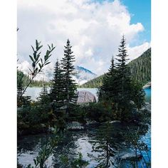 Camping at Joffre Lakes Provincial Park near Whistler.    Photo: @CaleyVanular via Instagram #exploreBC #explorecanada