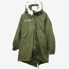 """The M-51 """"fishtail"""" parka. Lots of companies are making repros of this, but I'll take the original. Yes please."""